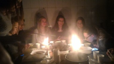 Christmas dinner with my Polish friends
